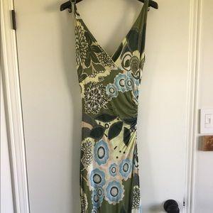 Lida Baday Long Print Dress